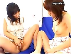 2 Asian Girls Masturbating..