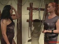 Domme Tanya plays round say no..